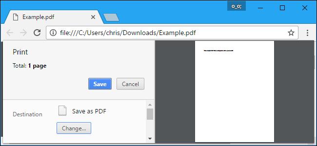 پرینت به PDF