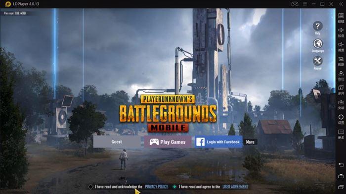 PUBG Mobile Kr را در LD Player بازی کنید