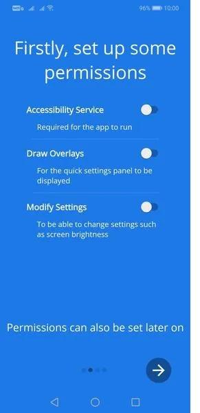 جابجایی تنظیمات سریع اندروید به پایین صفحه گوشی