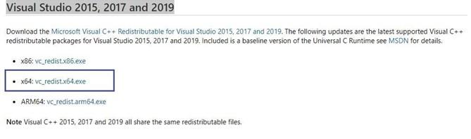 نصب مجدد فایلهای Visual C ++