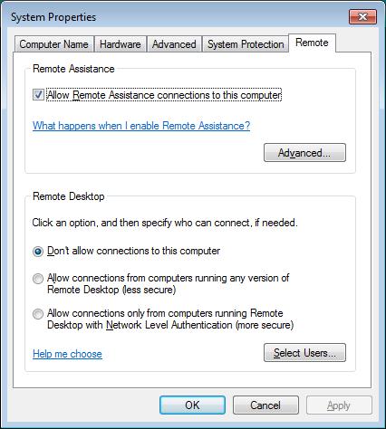 فعال سازی Remote Desktop در ویندوز 7 ، 8 ، 10