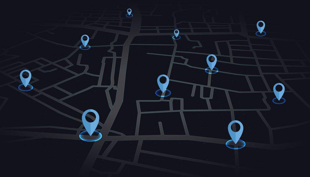 ردیابی مکان از آدرس IP