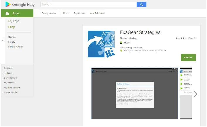 ExaGear Strategies