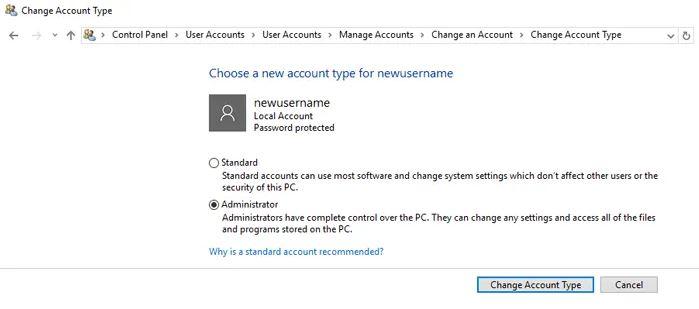 افزودن کاربر جدید به ویندوز