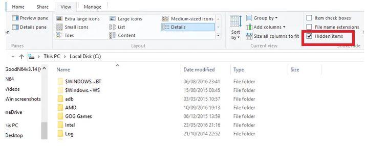 برنامه تنظیمات در ویندوز 10