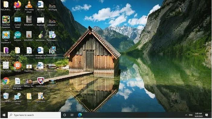 تصویر زمینه دسک تاپ کوه ها و مناظر با کیفیت 4K