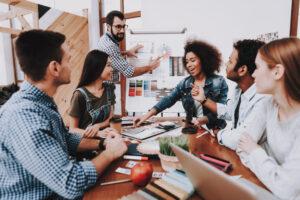 ساختار یک تیم تبلیغاتی