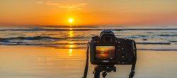 عکاسی از  غروب خورشید با  بهترین تنظیمات دوربین دیجیتال