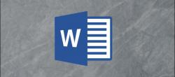 چگونه می توان یک تصویر را در Microsoft Word قرنیه سازی کرد ؟