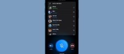 نحوه استفاده از چت صوتی زنده در تلگرام