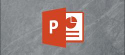 ذخیره اسلاید پاورپوینت مایکروسافت به عنوان تصویر
