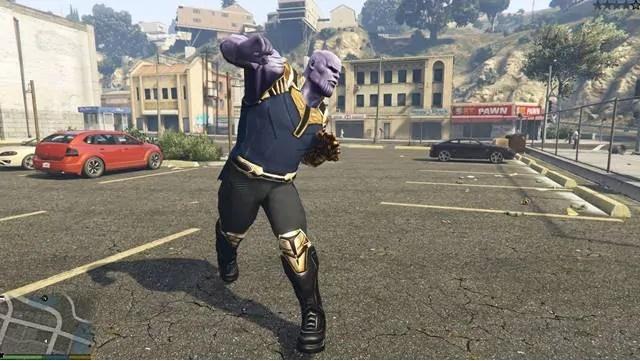 Thanos Mod برای جی تی آی 5