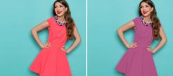 آموزش تغییر رنگ لباس عکس در گوشی با اپلیکیشن PicsArt
