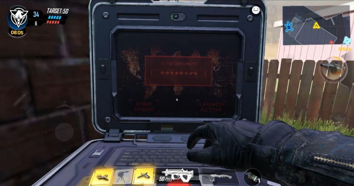 بمب اتم در Call Of Duty: Mobile