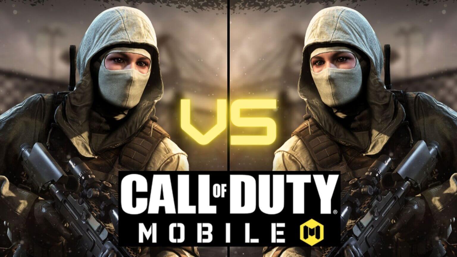 بازی یک به یک در کالاف دیوتی موبایل