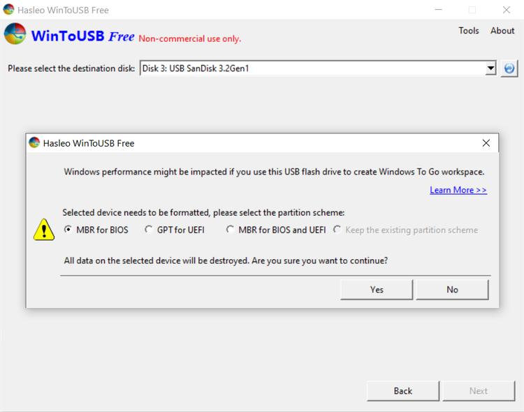 ویندوز را با WinToUSB قابل حمل کنید