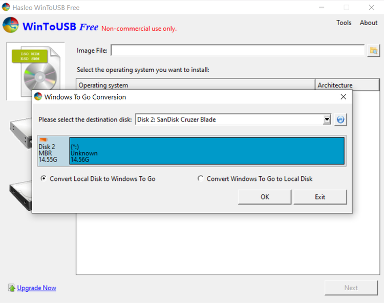 تبدیل HDD به Windows