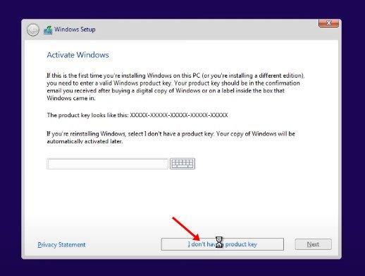 Windows 11 edition را انتخاب کنید