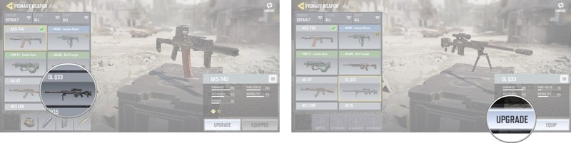 Upgrade سلاح