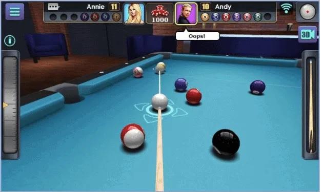 بازی 3D Pool Ball