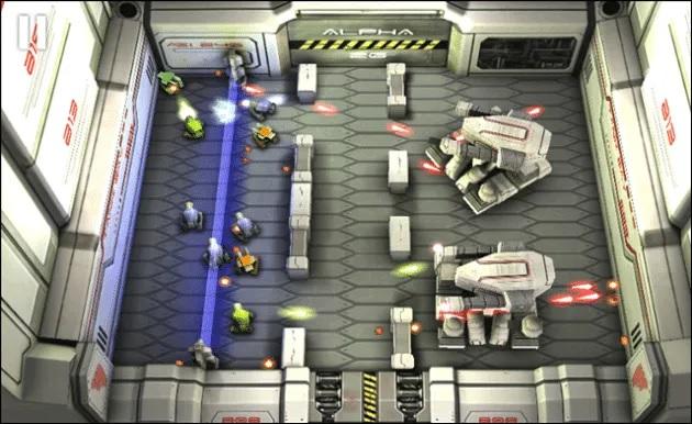 بازی Tank Hero: Laser Wars