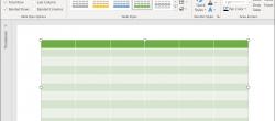 نحوه درج و ویرایش جدول در پاورپوینت مایکروسافت