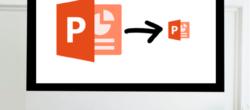 چگونه حجم فایل ارائه پاورپوینت خود را کاهش دهیم ؟