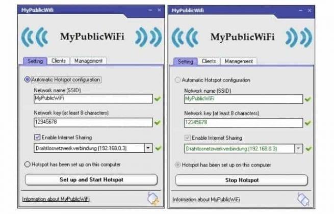 هات اسپات وای فای برای ویندوز 10