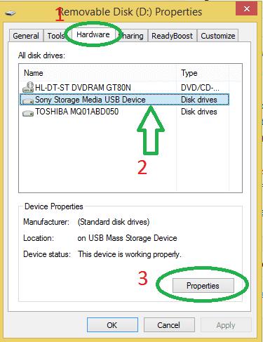 سرعت انتقال فایل usb