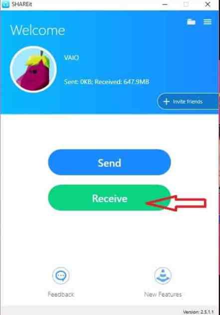 انتقال فایل از گوشی به ویندوز 10