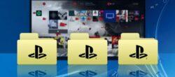 نحوه ایجاد ، ویرایش و حذف پوشه ها در PS4